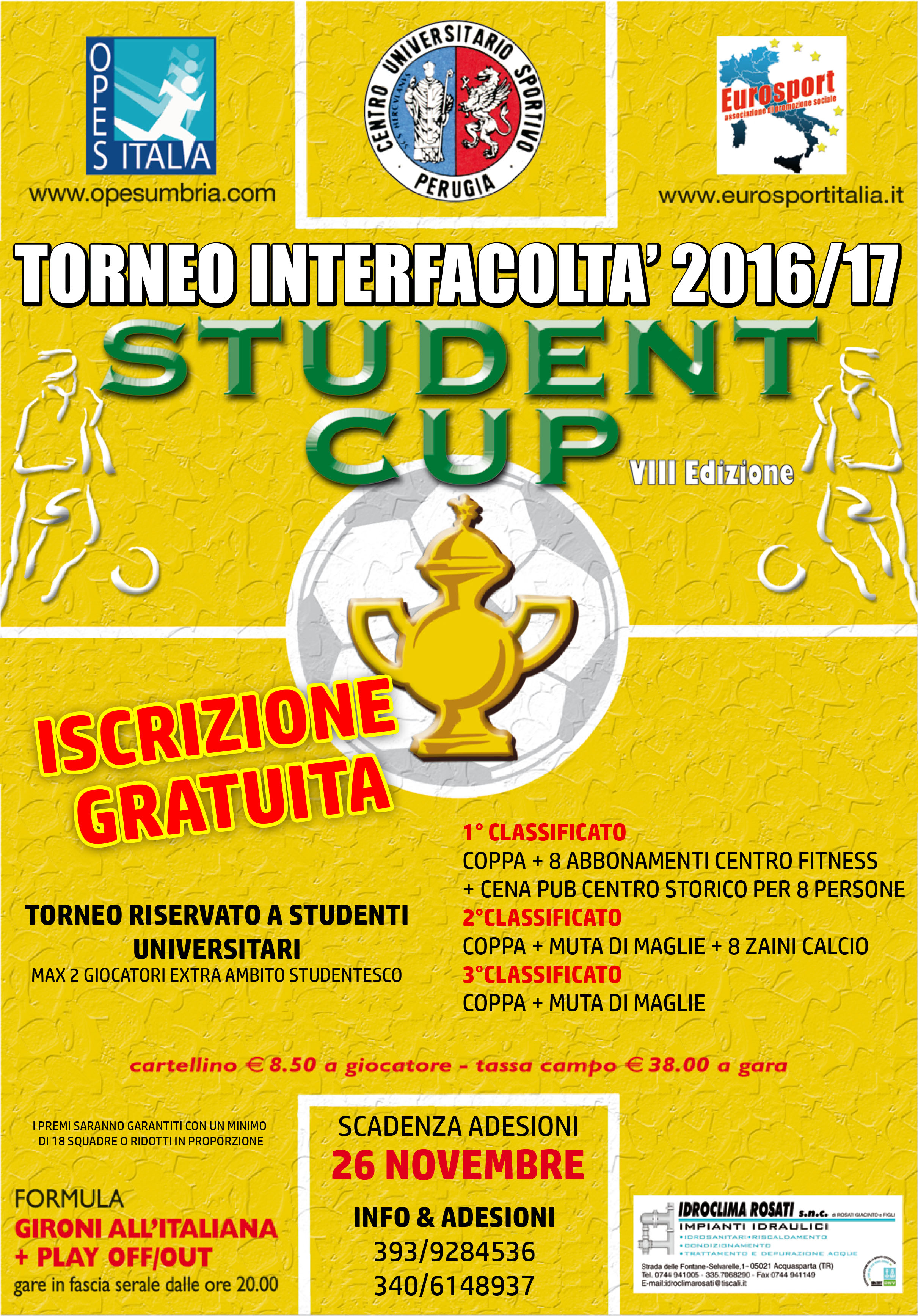 STUDENT CUP INVERNALE