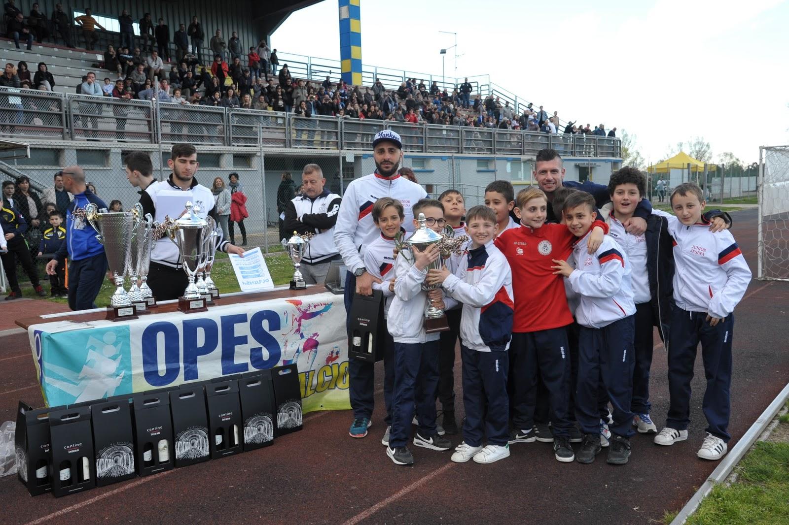 junior jesina vincitori gioca con il calcio 2018 Cat. 2007
